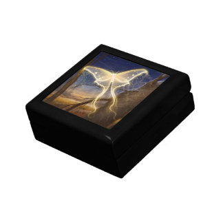 Mystic Butterfly Small Square Gift Box