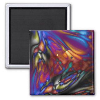 Mystic Butterfly Refrigerator Magnets