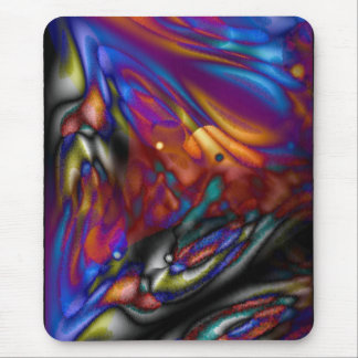 Mystic Butterfly Mouse Pads