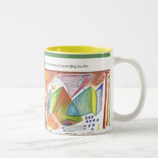 Mystic Chord Two-Tone Coffee Mug