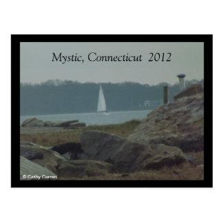 Mystic, Connecticut After Sandy Postcard