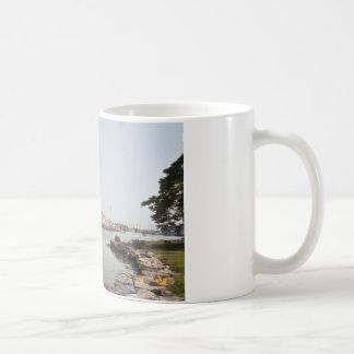 Mystic, CT Basic White Mug