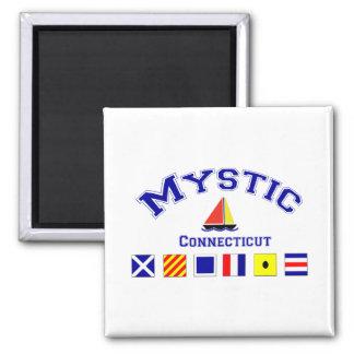 Mystic CT Fridge Magnets