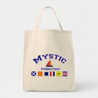 Mystic, CT Grocery Tote Bag