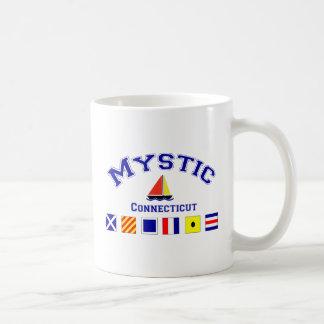 Mystic, CT Classic White Coffee Mug
