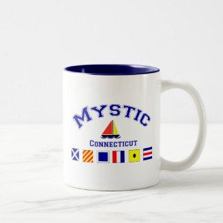 Mystic, CT Two-Tone Mug