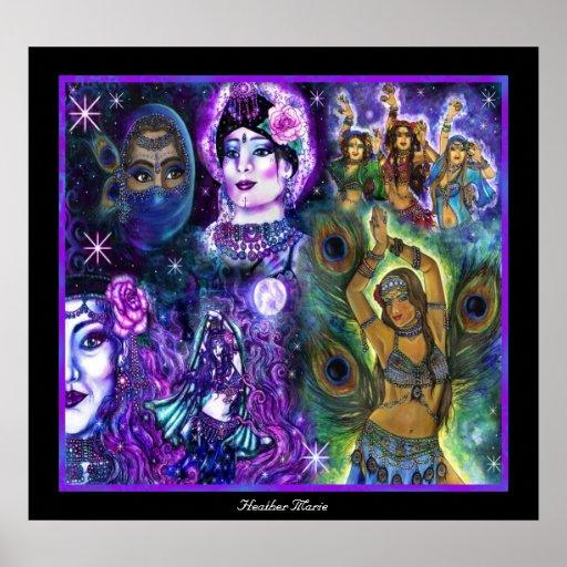 Mystic Dancers Poster
