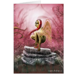 Mystic Darya Greeting Card