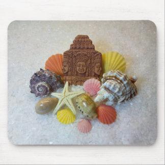 Mystic Energy Seashells and Starfish Mausepad Mouse Pad