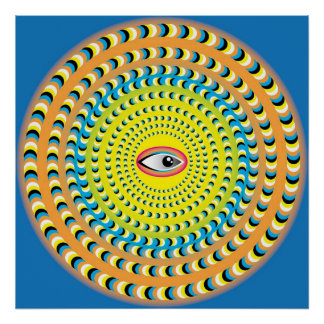 Mystic Eye Poster