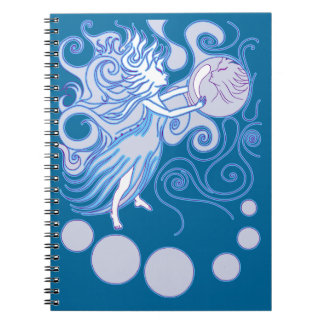 Mystic Fairy Spiral Notebooks