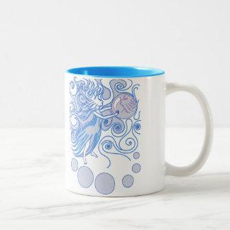 Mystic Fairy Two-Tone Coffee Mug