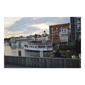 Mystic Ferry Photo Print