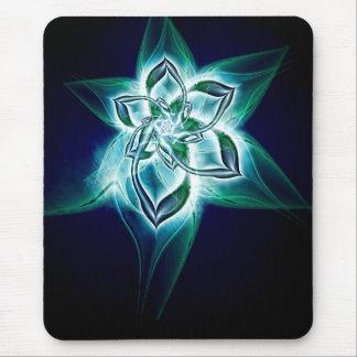 mystic flower mouse pad