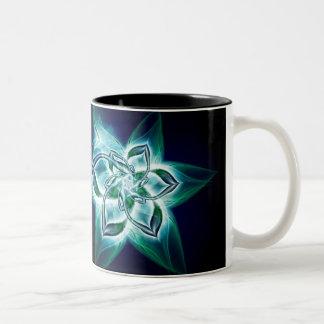 mystic flower Two-Tone mug