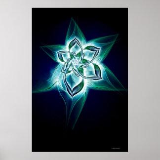 mystic flower poster