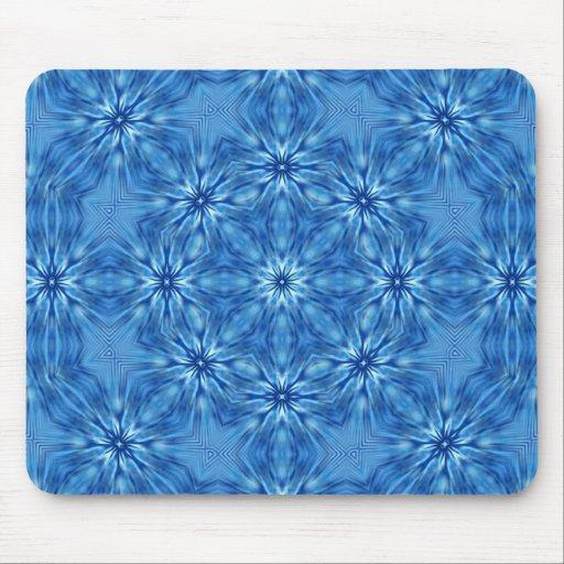 mystic flowers kaleidoscopic mouse mats