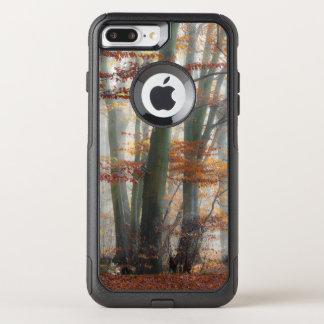 Mystic Foggy Forest Scenic Autumn Nature Photo  on OtterBox Commuter iPhone 8 Plus/7 Plus Case