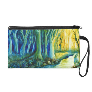 Mystic Forest Wristlet Clutch