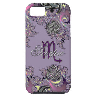 Mystic Fractal Zodiac Sign Scorpio iPhone 5 Covers