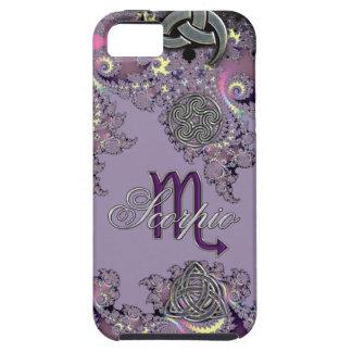 Mystic Fractal Zodiac Sign Scorpio iPhone Case