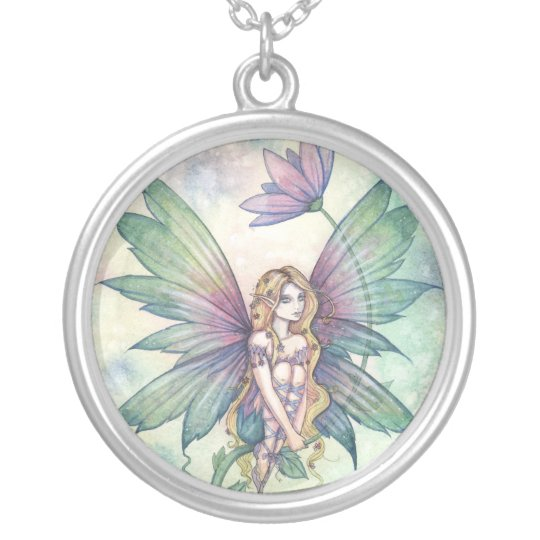 Mystic Garden Flower Fairy Necklace