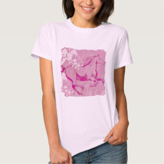 Mystic Garden Horse (Pink) T Shirts