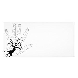 Mystic Hand Customised Photo Card