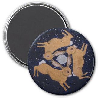 Mystic Hare's 7.5 Cm Round Magnet