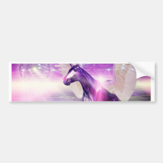 Mystic Horse Bumper Sticker