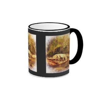 Mystic Horse Ringer Mug