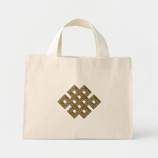 Mystic Knot - Silver & Gold 2 Tote Bag