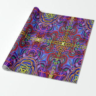 Mystic Lattice Wrap Wrapping Paper