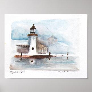 mystic-lighthouse print