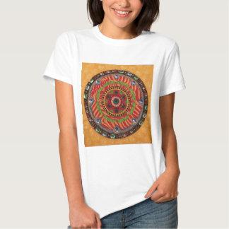 Mystic Mandala: Unique Painting T Tees