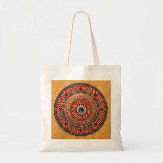Mystic Mandala: Unique Painting Tote Budget Tote Bag