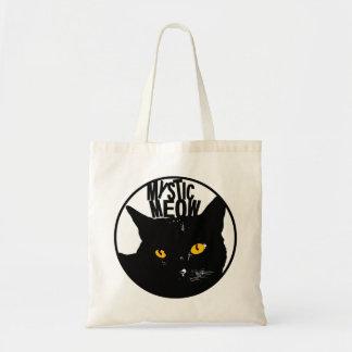 Mystic meow tote bag