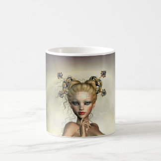 Mystic Moon Mermaid Classic White Coffee Mug