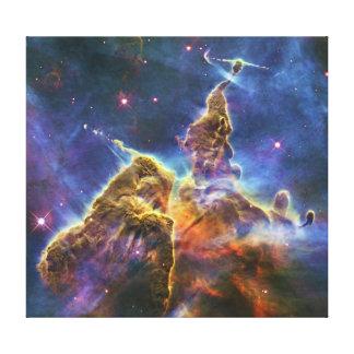 Mystic Mountain Carina Nebula HH 901 HH 902 Stretched Canvas Print