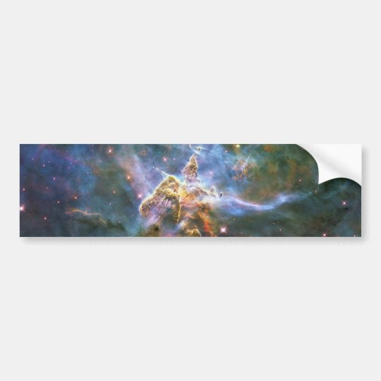Mystic Mountain Carina Nebula HH 901 HH 902 Wide Bumper Sticker