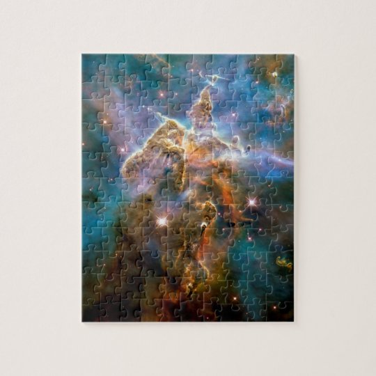 Mystic Mountain Carina Nebula Hubble Space Photo Jigsaw
