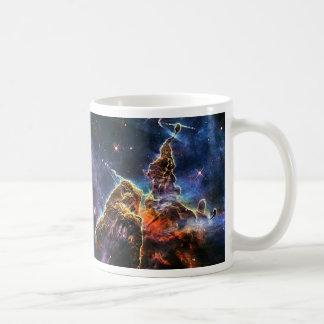 Mystic Mountain in space NASA Coffee Mug