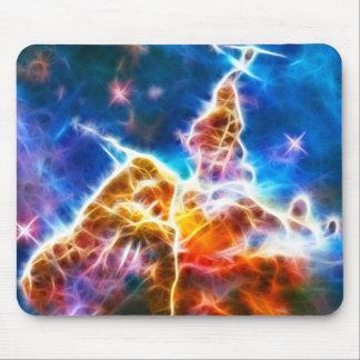 Mystic Mountain Nebula Mouse Pad