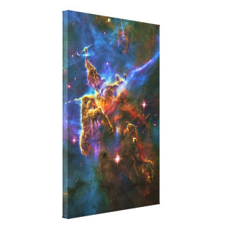 Mystic Mountains - Carina Nebula Canvas Print