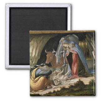 Mystic Nativity, 1500 Square Magnet