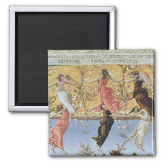 Mystic Nativity Square Magnet