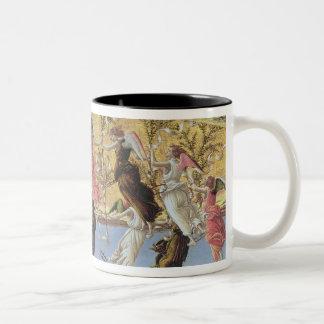 Mystic Nativity Two-Tone Coffee Mug