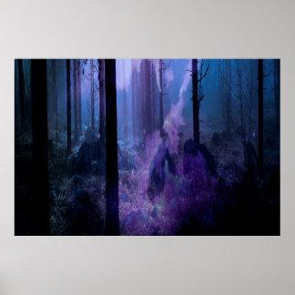 Mystic Night Poster