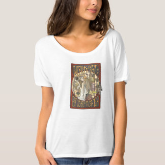 Mystic of Mystical Backpackers Scooped-Neck Tee