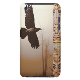 Mystic Raven & Haida Totem-Pole Crow-lover Art iPod Touch Case-Mate Case